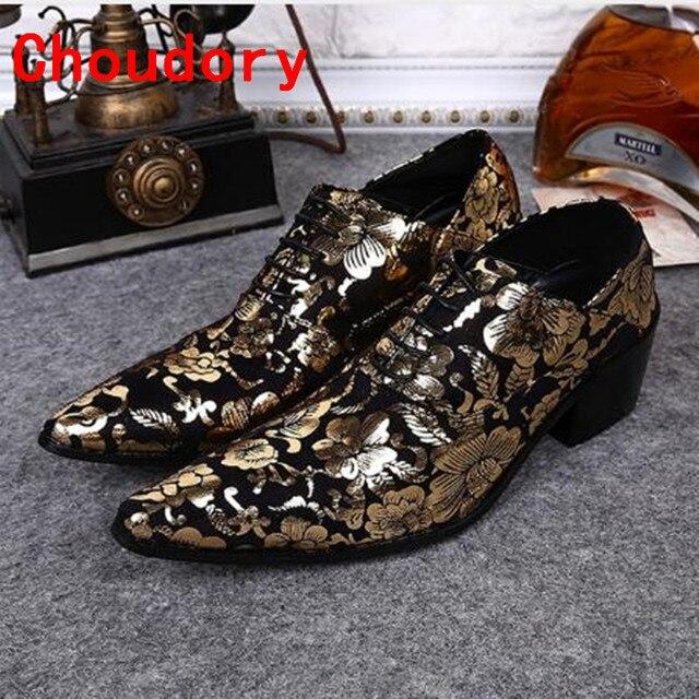 Verano De Para Hombre Choudory Zapatos Británico Vestir Estilo Y6ybvf7Ig