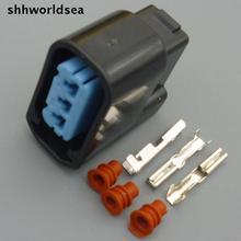 Shhworld Sea 5 компл. 3P автомобильный разъем для Honda Катушка зажигания, автомобильная розетка 2,0 мм 6189-0728