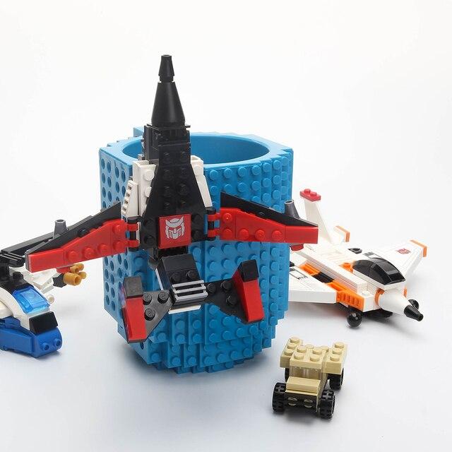 1 Pc 12 Uncja Build On Typu Lego Building Blocks Cegły Kubek Kawy