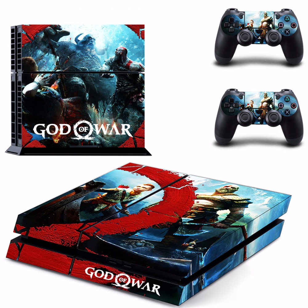 Us 6 26 5 Off Game God Of War 4 Ps4 Skin Sticker Decal For Sony Playstation 4 Console And 2 Controllers Ps4 Skin Sticker Vinyl Skins In Stickers
