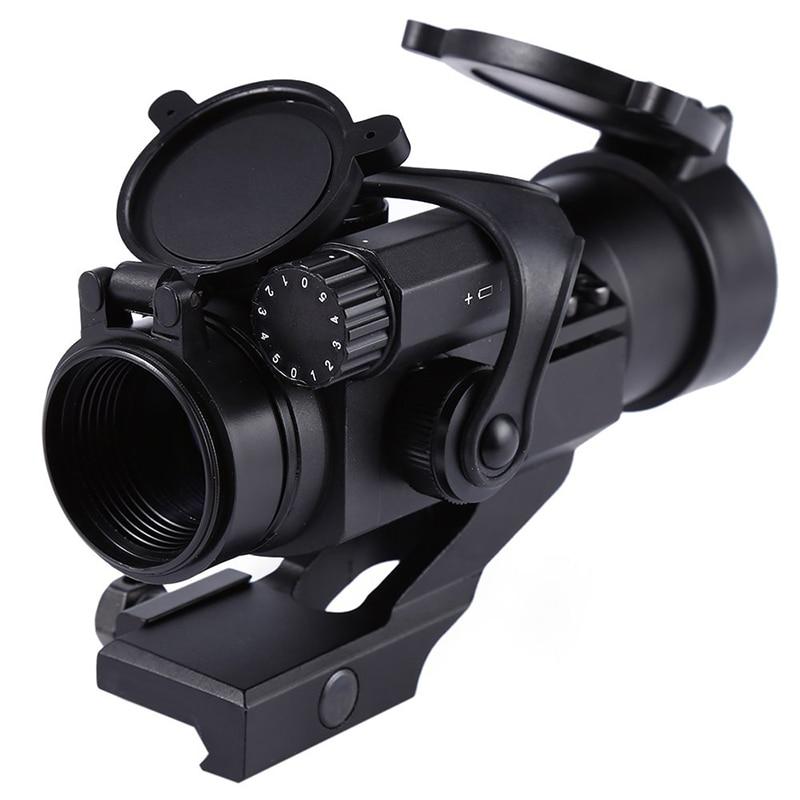 Riflescopes 32mm M2 Sighting Telescope Laser Gun Sight with Reflex Red Green Dot Scope for Picatinny