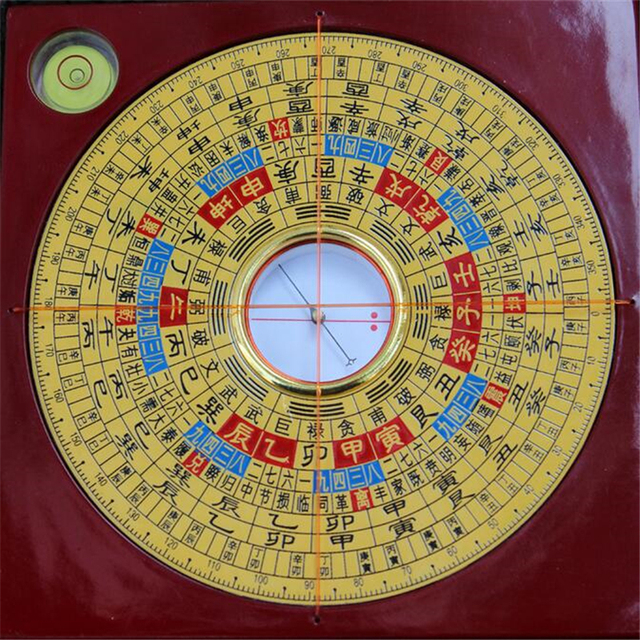 hiqh quality wooden chinese traditional ancient feng shui compass luo pan bagua lucky direction chinese feng shui compass