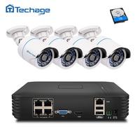 4CH POE NVR 1080P HDMI Output 4PCS 1 0 MP IR Weatherproof 720p IP Camera Poe