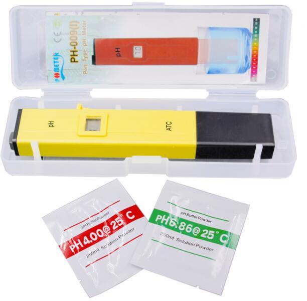 Digital PH Tester Meter Pocket Pen Aquarium Accuracy 0.1 Pool Water Digital Pen PH Meter Tester with ATC 10%off