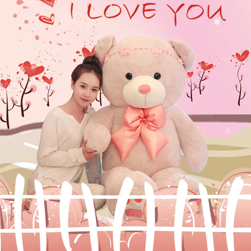 Soft 160cm Teddy Bear Toys Stuffed Plush Doll Giant Lovely Bear Tie Bear Plush Teddy Doll Brinquedos For Kids Birthday Toys kawaii 140cm fashion stuffed plush doll giant teddy bear tie bear plush teddy doll soft gift for kids birthday toys brinquedos