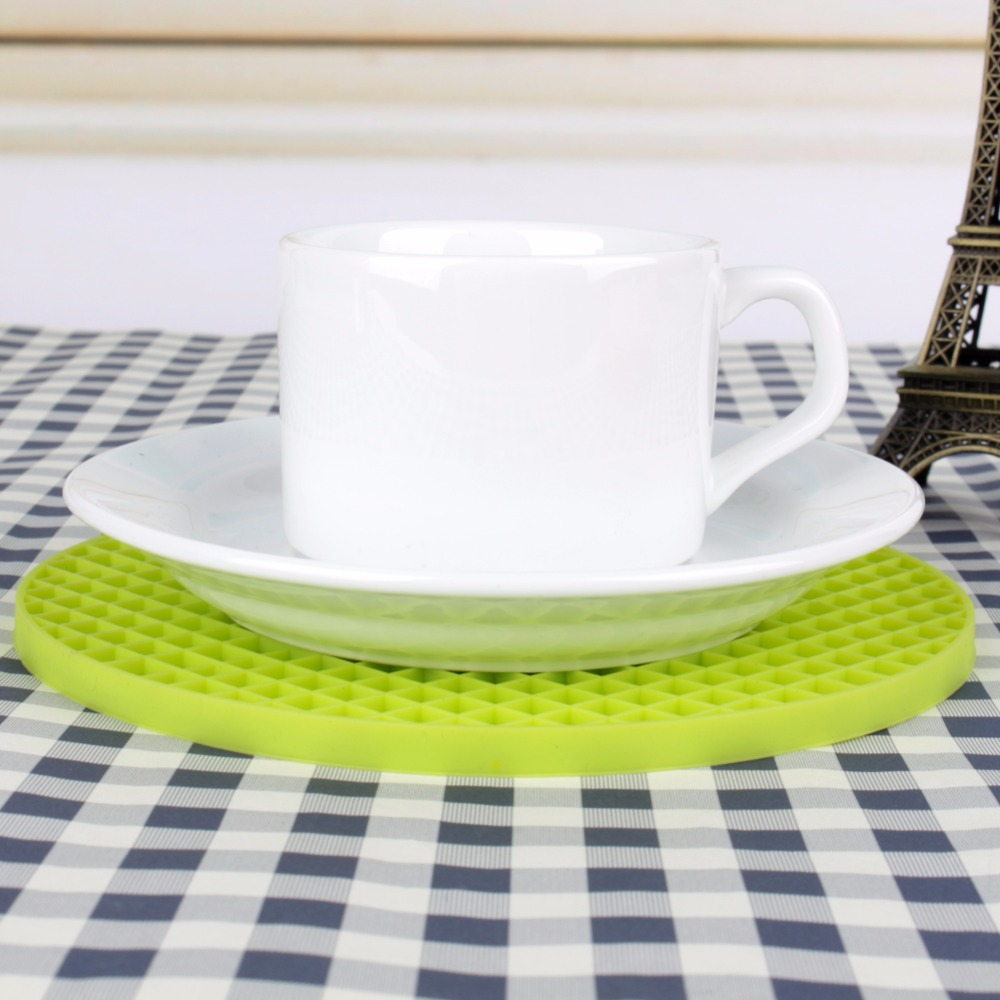 Silicone Kitchen Table Mats Round Dining Table Placemat Coaster Kitchen  Accessories Cup Mat In Mats U0026 Pads From Home U0026 Garden On Aliexpress.com |  Alibaba ...