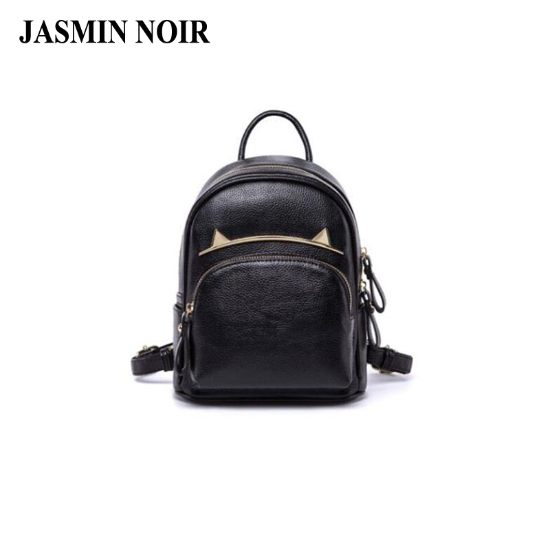 Fresh Spring Summer Female Bag Cute Designer Cartoon Women Pu Leather Backpack High Quality School bag