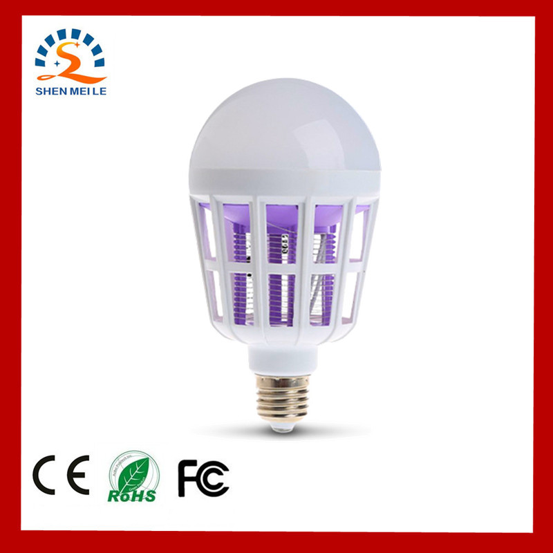 Indoor 2 in 1 Mosquito Killer E27 LED Bulb 9W 220V Lamp Insect Anti-Mosquito Repeller Killing Fly Bug Home Night LightIndoor 2 in 1 Mosquito Killer E27 LED Bulb 9W 220V Lamp Insect Anti-Mosquito Repeller Killing Fly Bug Home Night Light