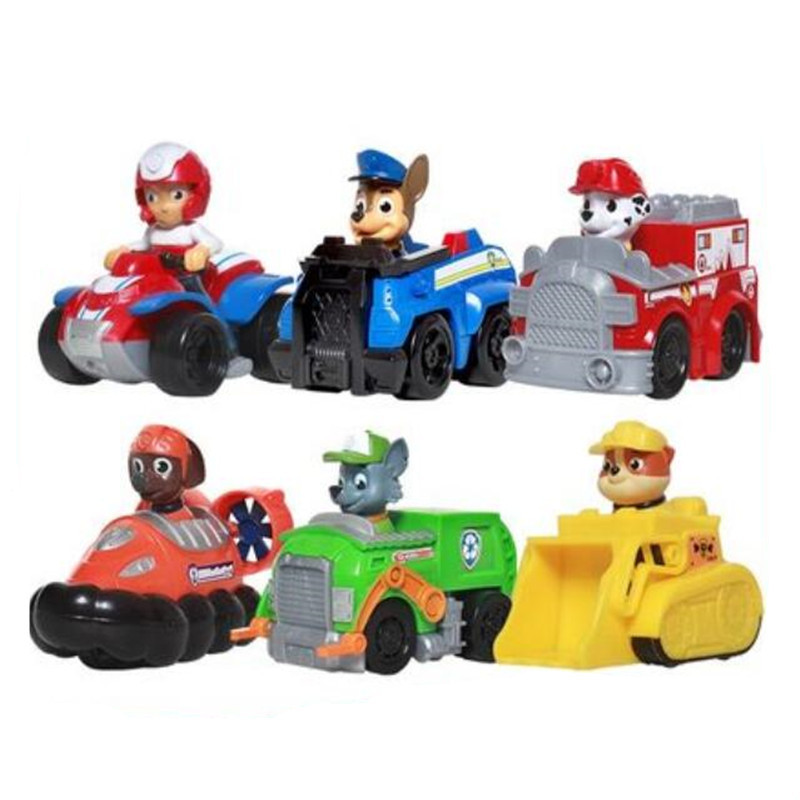Fashion Paw Patrol Dog Anime Puppy Patrol Car Model Kids Toys Patrulla Canina Action Figure Children Gifts