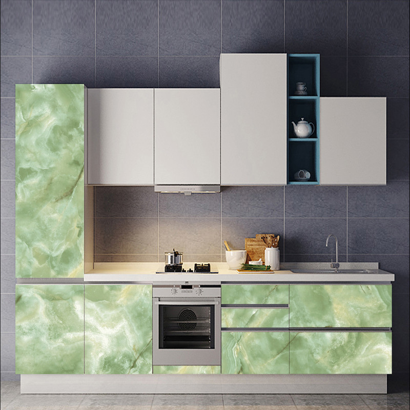 emulation marble effect sticker counter top contact living