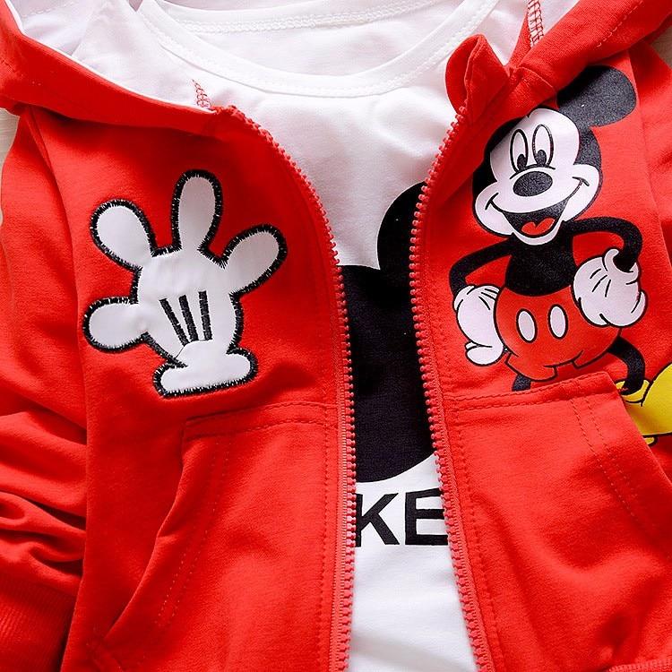 Children-Kids-Cartoon-Donald-Duck-Minnie--Clothes-Suits-Baby-Boys-Girls-Hooded-Jacket-T-Shirt (3)