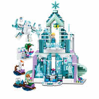 IN stock 848pcs Snow World Series The Elsa`s Magical Ice Castle Princess legoinglys friends Building Blocks Bricks girl Toys