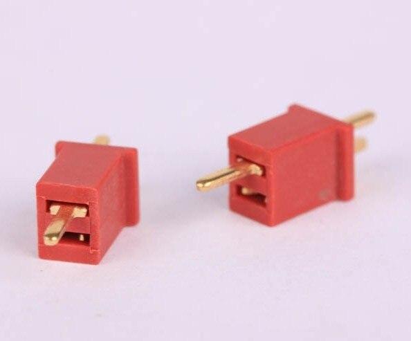 1000 piezas = 500 par/lote MINI MICRO ULTRA T enchufe la batería de oro decanos RC conector venta al por mayor-in Partes y accesorios from Juguetes y pasatiempos    1