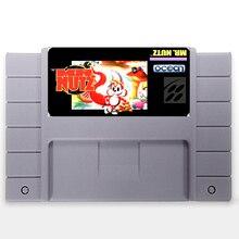 Mr Nutz EUA Versão 16 pouco Grande 46 pinos Cinza Cartão de Jogo Para O Jogador Do Jogo NTSC