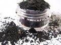 Solvent Resistant Black fragment Glitter