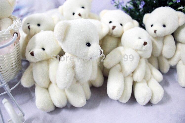 100ชิ้น/ล็อต12เซนติเมตรโปรโมชั่นของขวัญสีขาวมินิหมีของเล่นตุ๊กตาร่วมตุ๊กตาหมีช่อตุ๊กตา/อุปกรณ์โทรศัพท์มือถือ-ใน ตุ๊กตาสัตว์และตุ๊กตาผ้ากำมะหยี่ จาก ของเล่นและงานอดิเรก บน   3