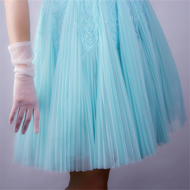 Women Gloves Mesh Lace...