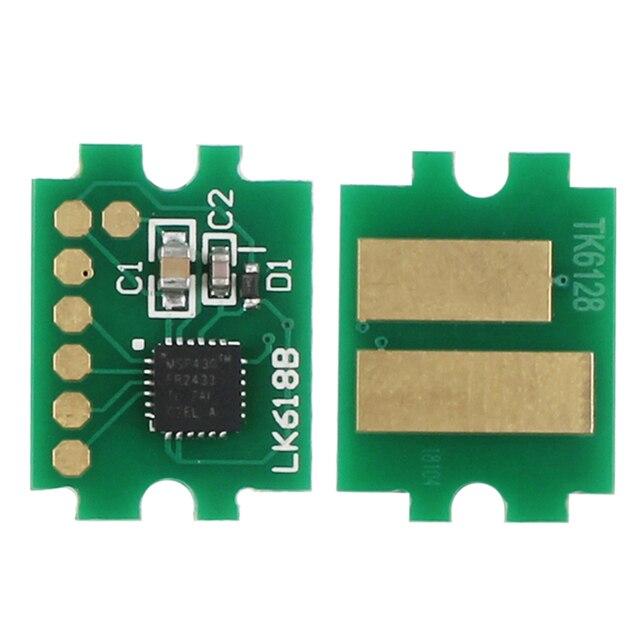 """ארה""""ב גרסה 15K TK 6117 שבב עבור Kyocera ECOSYS M4132idn/M4125idn טונר מחסנית מילוי איפוס"""