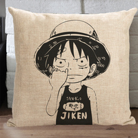 1052 Anime COS Fly Back Road Cotton Linen Pillow Cushion Cover Holiday Gifts Case Cover