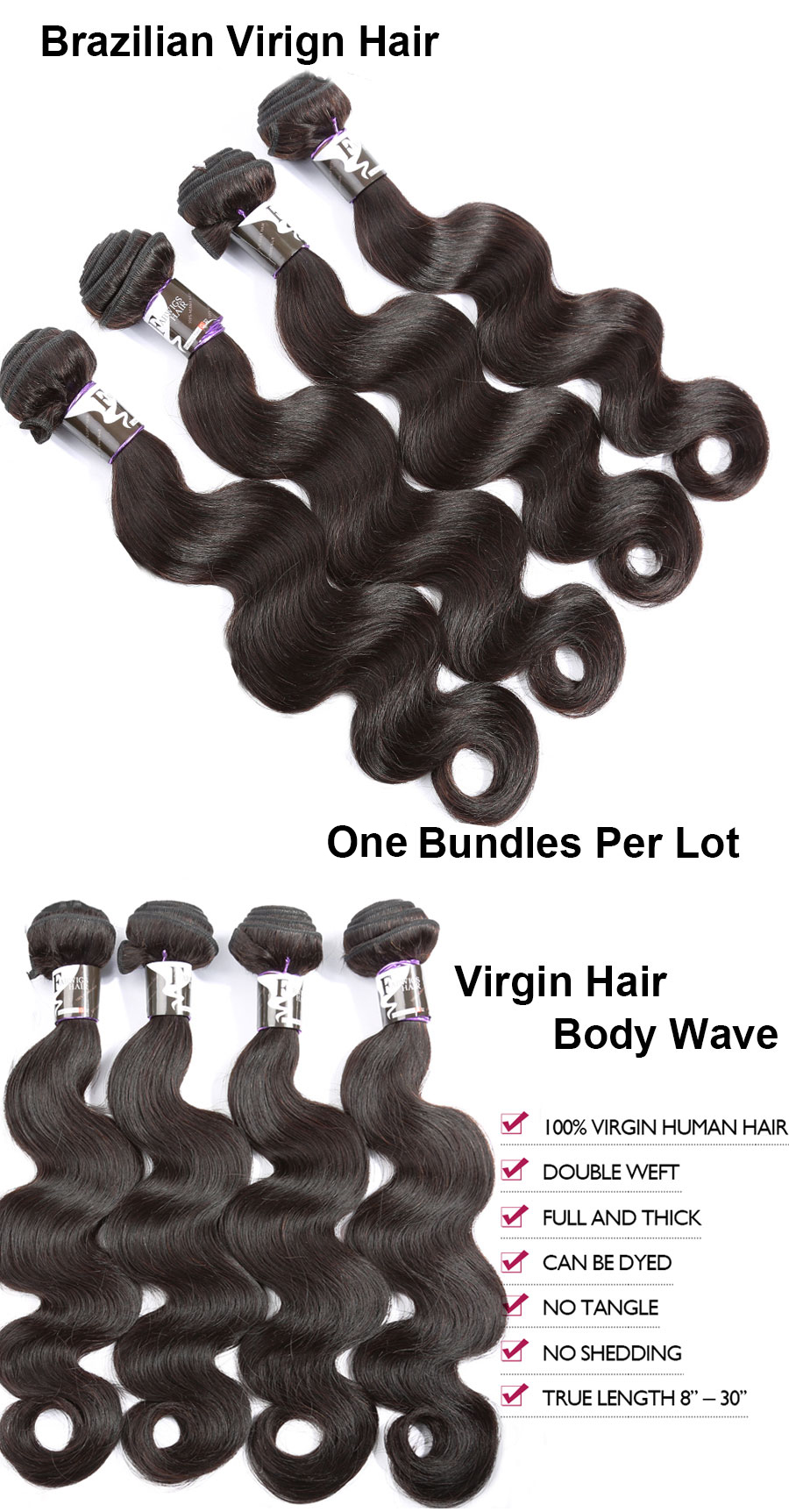 one bundle body wave