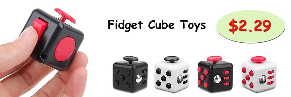 Plastic Fidget Spinner Toys Anxiety Stress Relief Toys EDC Finger Hand Spinner Fidget Black White Blue Green Pink