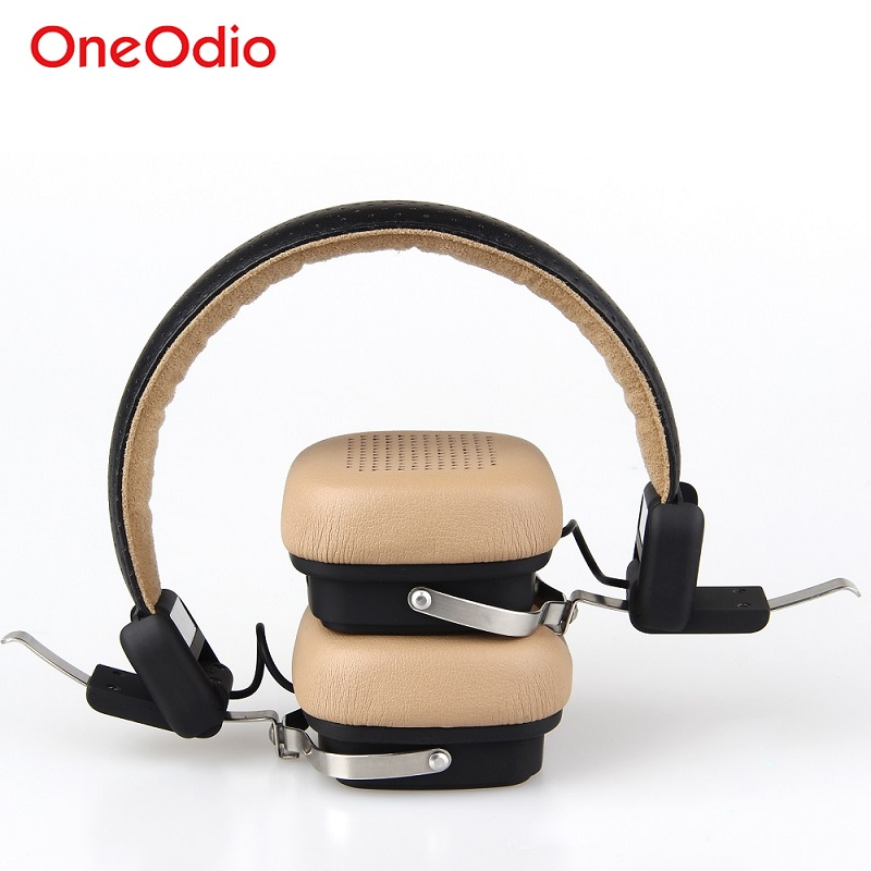 OneOdio  Wireless Bluetooth Headphones/headset  With Microphone Beige/Black fone de ouvido	Stereo Noise Cancelling Headband earphone musical ear phones headphones with microphone bluetooth headset wireless noise cancelling computer fm tf card headband