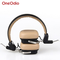 OneOdio Wireless Bluetooth Headphones Headset With Microphone Beige Black Fone De Ouvido Stereo Noise Cancelling Headband