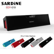 Portable Wireless Bluetooth Speaker Sardine SDY-019 Mini Hifi Stereo Subwoofer Sound Box with Mic/FM Radio Support TF Card