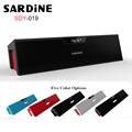 Sardine sdy-019 bluetooth altavoz inalámbrico portátil mini caja de sonido estéreo subwoofer de alta fidelidad con micrófono/fm radio apoyo tf tarjeta