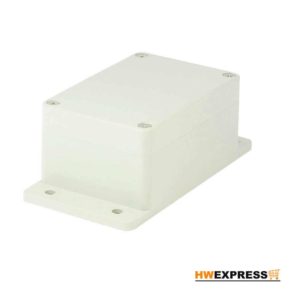 Hot Waterproof Plastic Enclosure Case DIY Junction Box 1 piece free shipping plastic enclosure for wall mount amplifier case waterproof plastic junction box 110 65 28mm