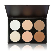 6 color Contour Palette Powder Cream Professional Contouring Makeup Concealer