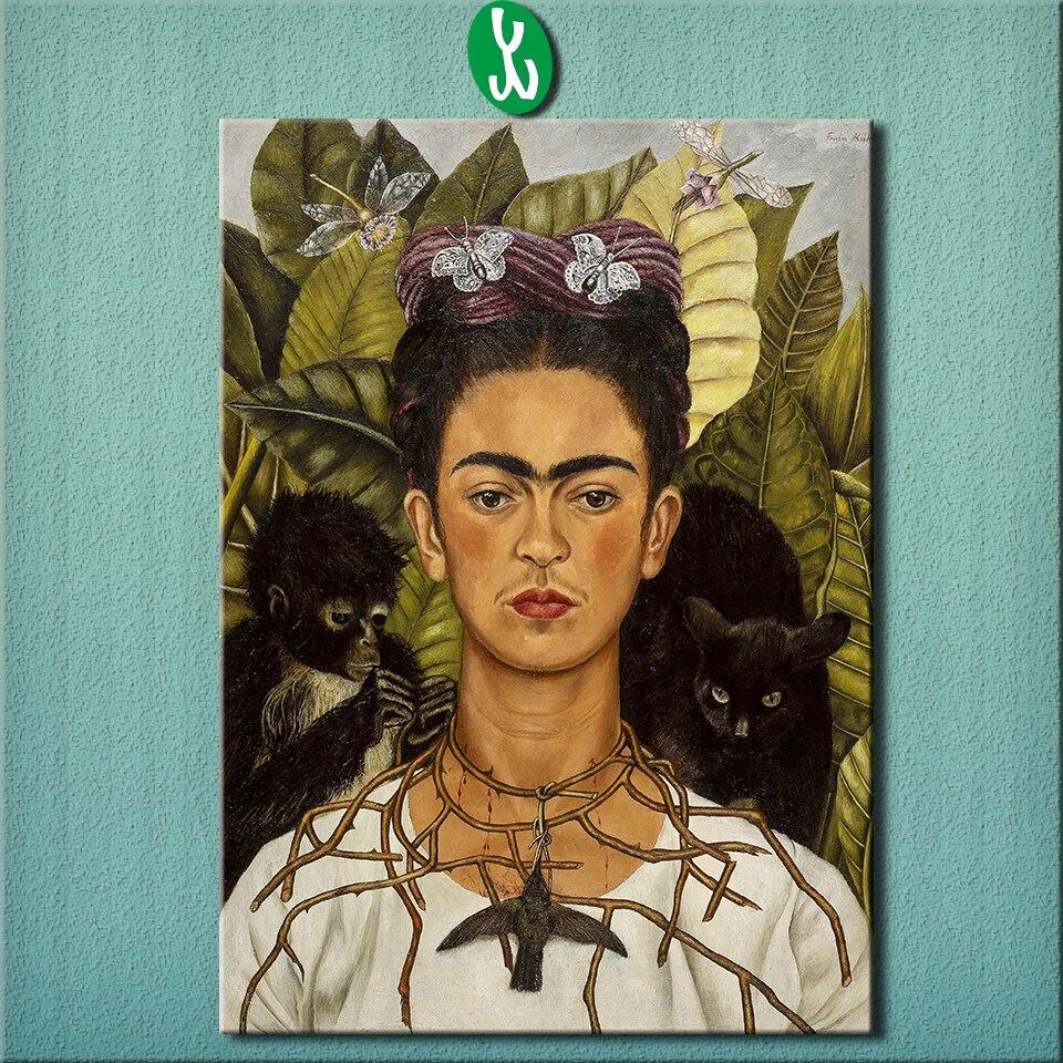 Achetez en Gros Frida kahlo peintures peintures à l'huile en Ligne à des Grossistes Frida kahlo ...