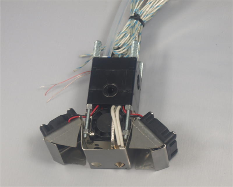 1.75mm/3mm UM full Extrusion U kit extruder print head hotend kit/set Ultimaker 2 Extended 3D printer parts ultimaker 2 3d printer upgarde extruder and aluminum alloy converter plate um 2 extended for ultimaker 2 upgraded into um 2