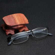 0bdc5f111a Xinfeite reading glasses New fashion metal half frame gradient comfortable  for old men and women X2