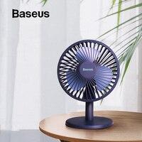 Baseus Mini USB Rechargeable Air Cooling Fan Desk Cooler Fan Home Student Dormitory Bed Portable Ventiladors Desktop Office Fan