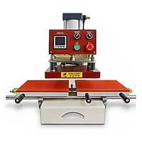 HQS 3023 Sliding Heat Press Machine 23x30 Pneumatic Press Heat Transfer Machine Clothing Hot Stamping Machine 220V