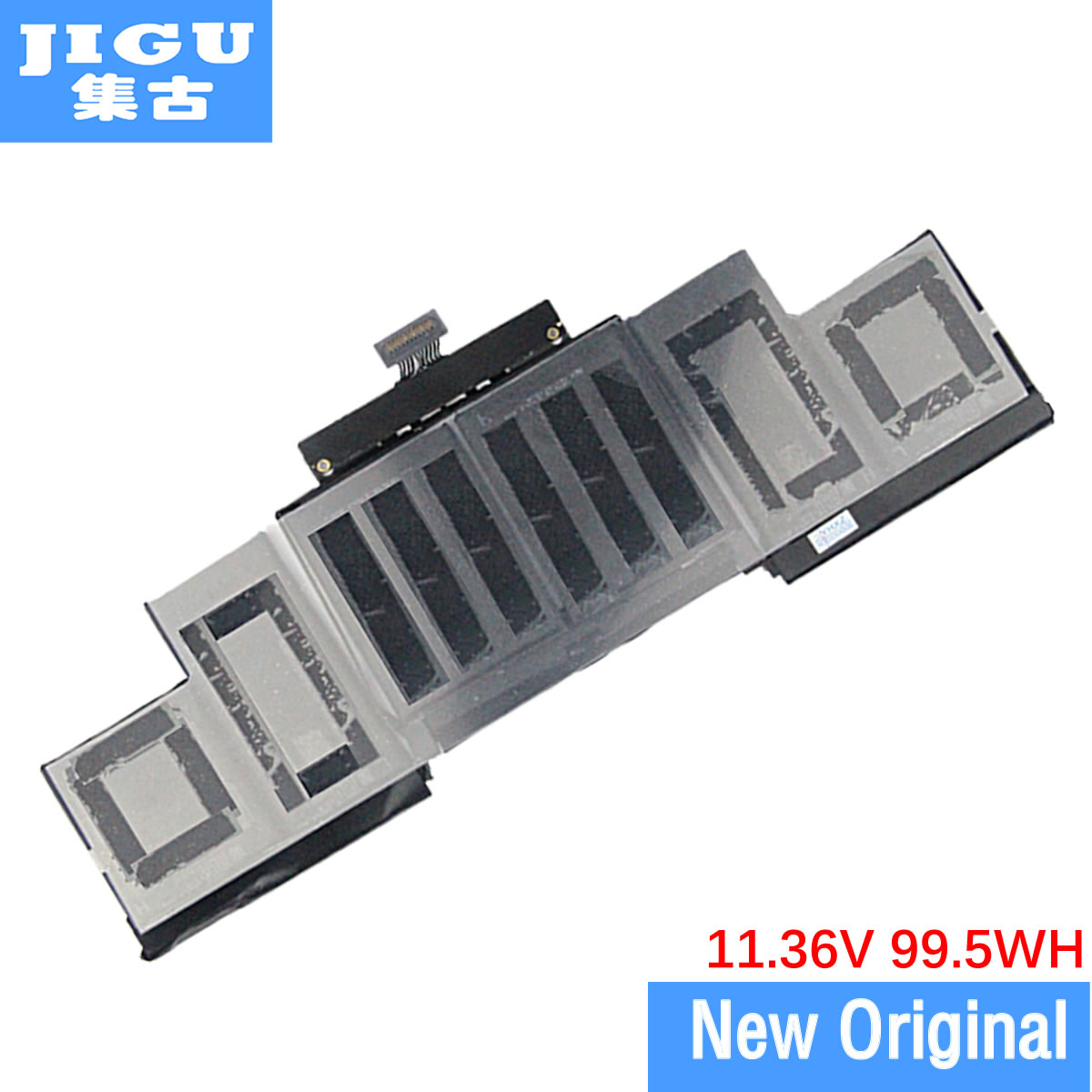 JIGU New A1618 LAPTOP Battery For 2015 Macbook Pro Retina A1398 15'' 15.4 11.36V / 99.5WH Rechargeable Battery Wholesales free shipping a1417 original laptop battery for apple retina a1398 mc975 mc976 me664 me665 10 95v 95wh