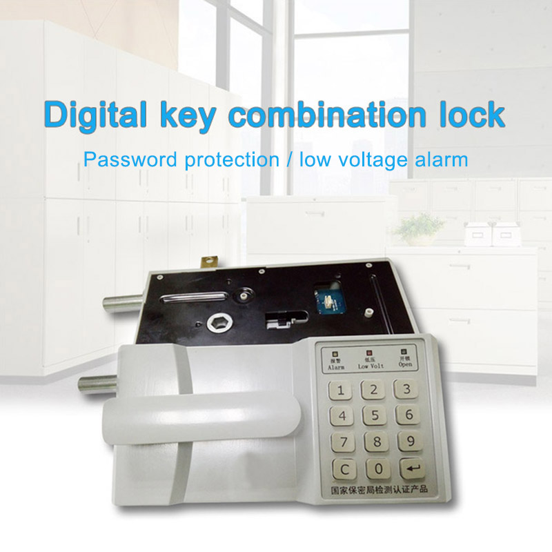 Digital key Button Password Lock Smart Electronic Door Lock for Home Hotels Apartment LCC77