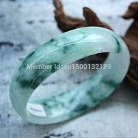 Free Shipping 00227 Certificate 59mm Waxy kind 100% Natural Chinese Bracelets Bangle ()