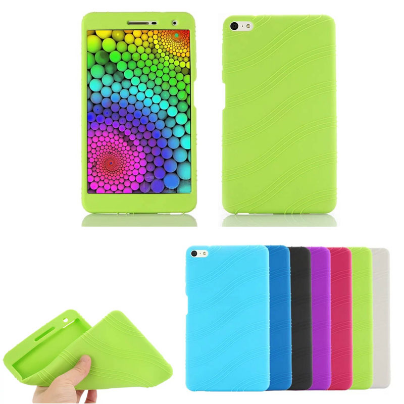 Drop Resistance Falling Soft Silicone Case For Huawei Mediapad T2 7.0 Pro PLE-703L 7 Inch Tablet