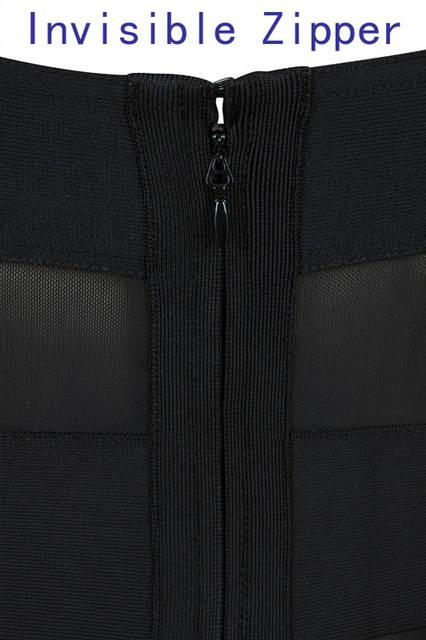 Big Brand High-end Design Lady Fashion Party Dress Sexy Black Stripe Off  Shoulder Celebrity 1991aeea4f01