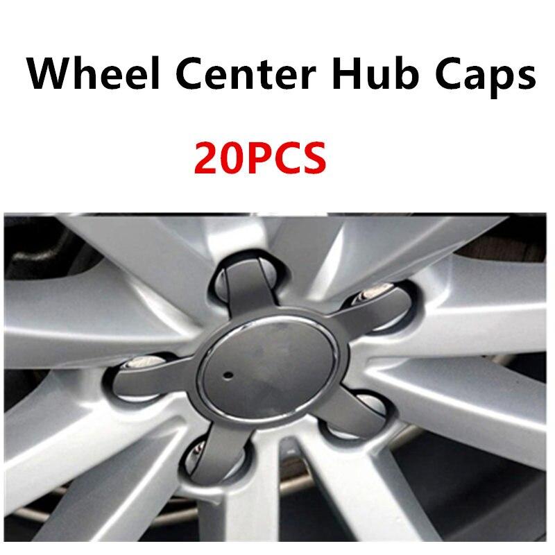 20pcs 135mm Wheel Center Cap Wheel Hub Cap For Audi A6 C6 A4 B6 B8 C5