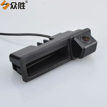 Car Rear View Camera for Audi A3 A4 A6L S5 Q7 Auto Trunk Handle Backup Parking Rearview Camera HD Night Vision LS8005SMT