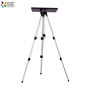 Image 3 - 500 1400mm Universal Projector Mount Tripod Stand Laptop Foor Stand Height Adjustable Bracket DVD Player Floor Holder with Tray