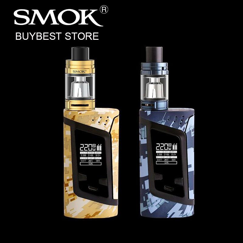 2017 New Camouflage 220W SMOK Alien Starter Kit with 3ml/2ml TFV8 Baby Atomizer & 220w Alien VW/TC Box Mod Firmware Upgradable аккумулятор для ноутбука for hp hp pavilion dm4 dv3 dv5 dv6 dv7 g32 g42 g62 g56 g72 compaq presario cq32 cq42 cq56 cq62 cq630 cq72 mu06 for hp dm4 dv3 dv5 dv6 dv7 g32 g42