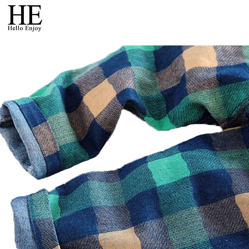 HE-Hello-Enjoy-kids-pants-boys-pants-2017-casual-spring-autumn-boys-pants-plaid-Kids-jeans-belt-children-trousers-for-girls-4