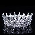 Hot Projetos Europeus Pavão Do Vintage Acessórios de Cristal Da Tiara Do Casamento Coroa de Noiva Tiara de Strass Tiaras Coroas Pageant