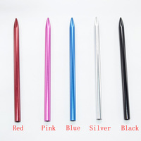 1000pcs 3.5Aluminum Paracord Needle With Screw Thread Shaft Tip Stiching Needle Fid for Pracord Bracelet