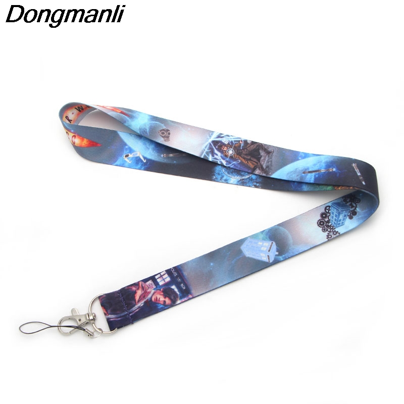 M1513 Dongmanli Doctor Who necklace mobile phone rope key lanyard Badge ID lanyard neck straps Accessories