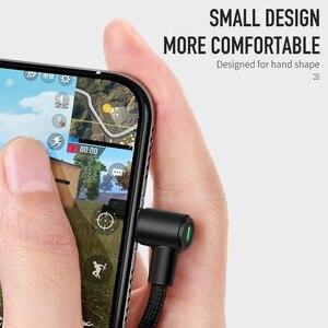 Image 3 - Mcdodo Cable USB de carga rápida para móvil, adaptador de Cable de luz LED para iPhone X, 8, 7, 6s, 5 Plus